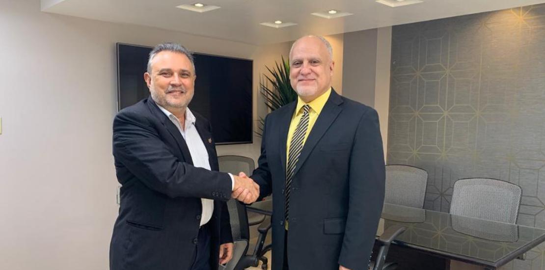 Fundador de LABO se reúne con el Presidente del CUD