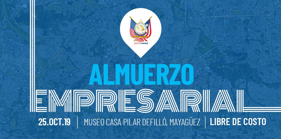 Llega el Almuerzo Empresarial del CUD a Mayagüez